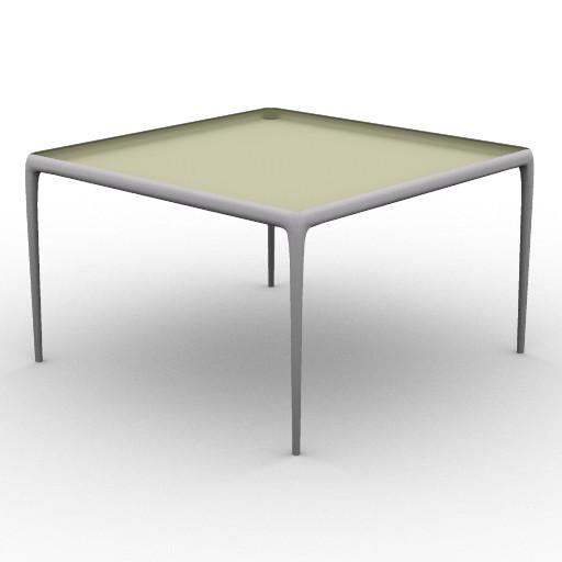 Cad 3D Free Model driade Tavoli  flategg