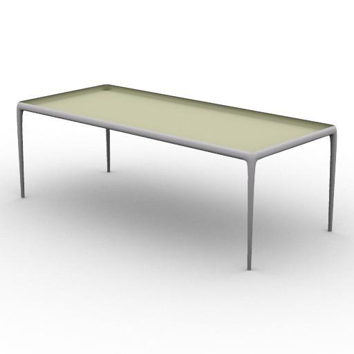 Cad 3D Free Model driade Tavoli  flategg2