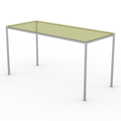 Cad 3D Free Model driade Tavoli  jellyslice140