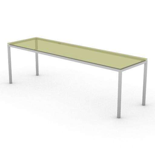 Cad 3D Free Model driade Tavoli  jellyslice140b