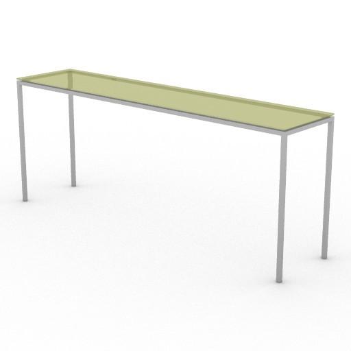 Cad 3D Free Model driade Tavoli  jellyslice180