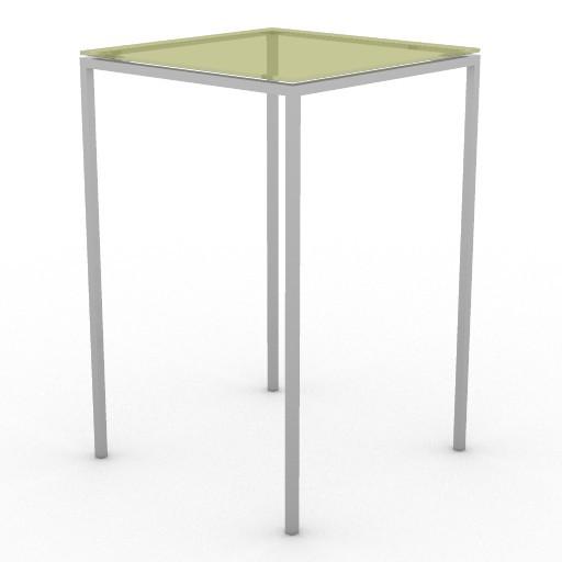 Cad 3D Free Model driade Tavoli  jellyslice60