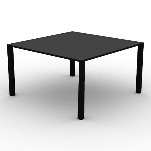 Cad 3D Free Model driade Tavoli  tetratable130