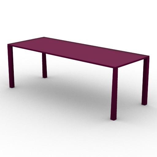 Cad 3D Free Model driade Tavoli  tetratable210