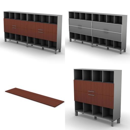 Cad 3D Free Model dvo 02-06-vertigo  11-bookcases