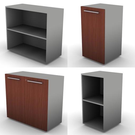Cad 3D Free Model dvo 02-06-vertigo  12b-storage-units-h.83-metal_shelves