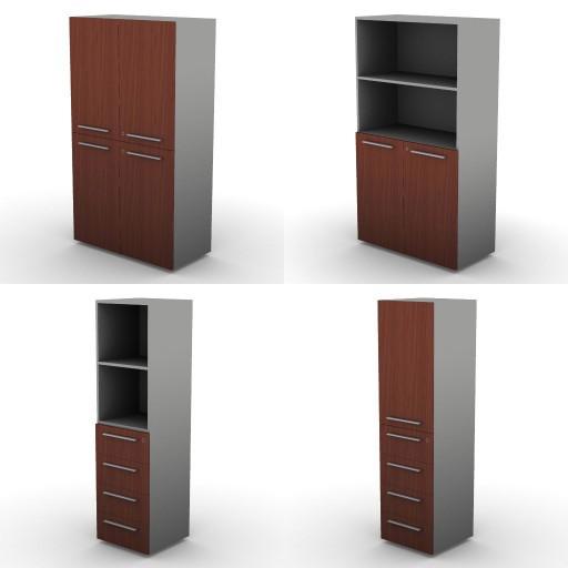 Cad 3D Free Model dvo 02-06-vertigo  14a-storage-units-h.163