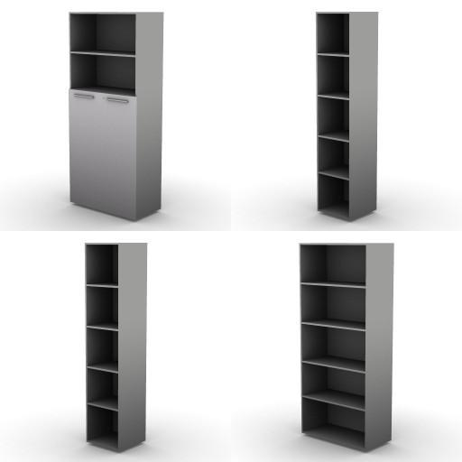 Cad 3D Free Model dvo 02-06-vertigo  15a-storage-units-h.207.5