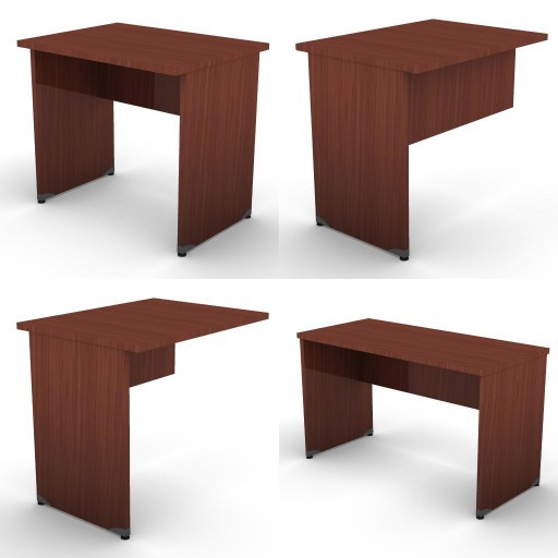 Cad 3D Free Model dvo A01-treko  02-typing-tables