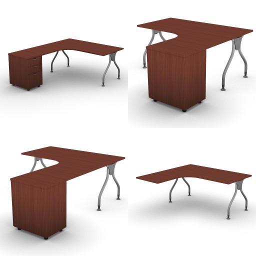 Cad 3D Free Model dvo A02-bull1  07-compact-desks