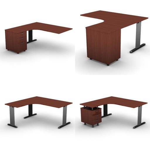 Cad 3D Free Model dvo A03-quicker  07-compact-desks-quicker