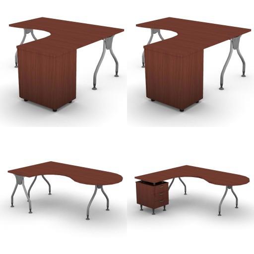 Cad 3D Free Model dvo A04-bull4-  07-compact-desks-bull4