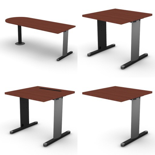 Cad 3D Free Model dvo A05-quicker4  01-desks-quicker4