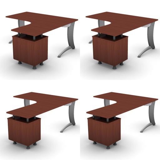 Cad 3D Free Model dvo A06-iks25  07-compact-desks-iks25