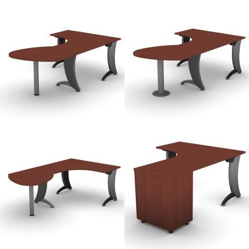 Cad 3D Free Model dvo A06-iks25  10-compound-desks-iks25