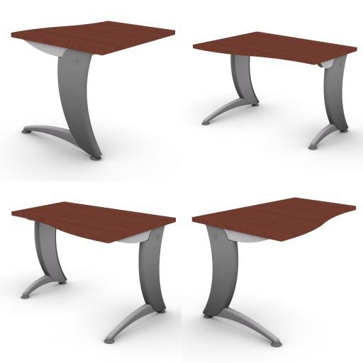 Cad 3D Free Model dvo A07-iks  02-typing-tables-iks