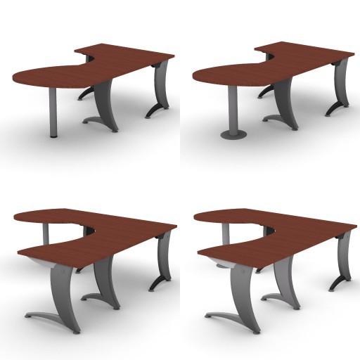 Cad 3D Free Model dvo A07-iks  10-compound-desks-iks