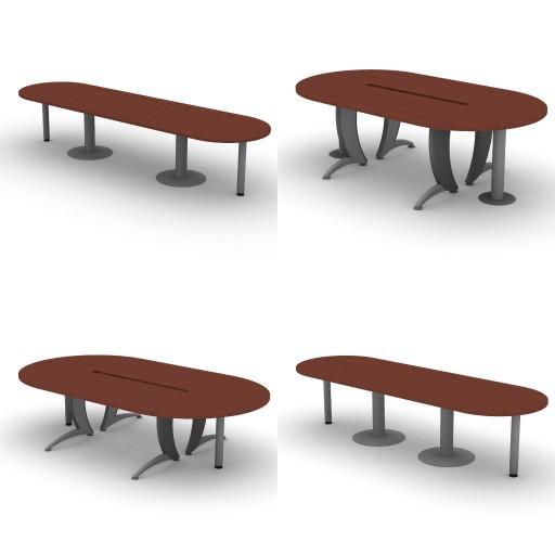 Cad 3D Free Model dvo A07-iks  14-conference-tables-iks