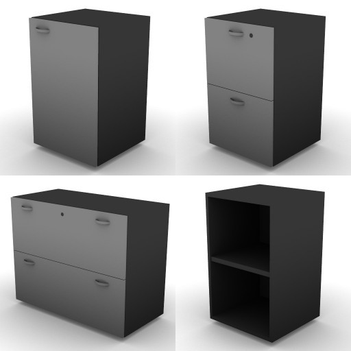 Cad 3D Free Model dvo A08-storage-units-tbqi  16a-h-73,5