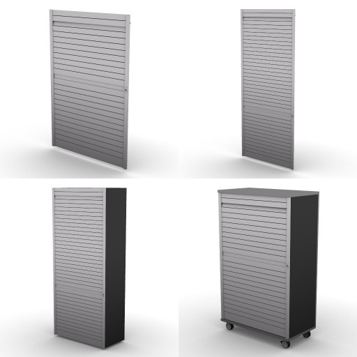 Cad 3D Free Model dvo A08-storage-units-tbqi  90-rolling-shutter