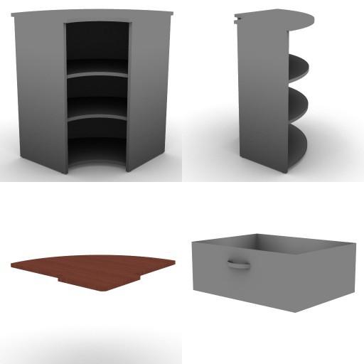 Cad 3D Free Model dvo  a09-counters-tbqi