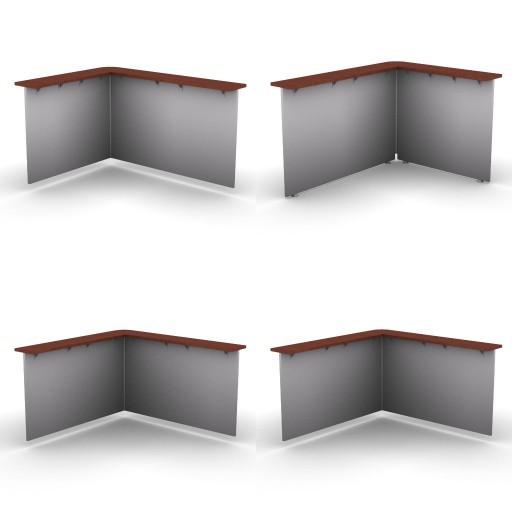 Cad 3D Free Model dvo A21-plexa  p08b-corner_tops