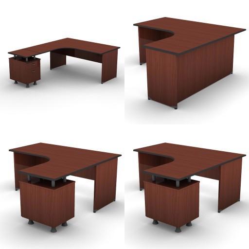 Cad 3D Free Model dvo B01-bik  07-compact-desks-bik