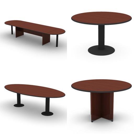 Cad 3D Free Model dvo B01-bik  14-conferences-tables-bik