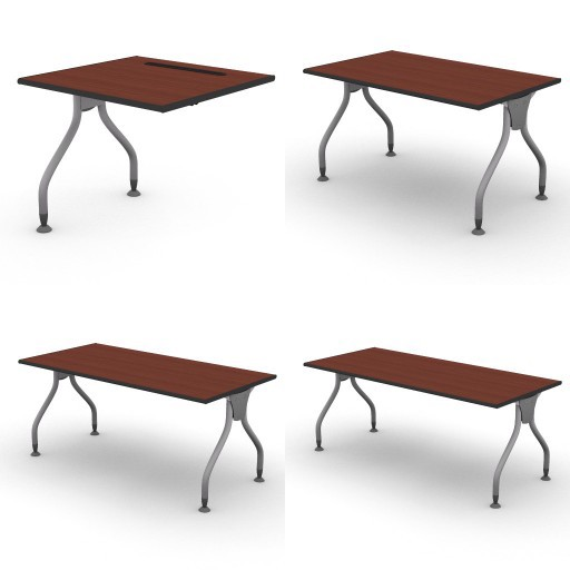 Cad 3D Free Model dvo B02-bull2  01-desks-bull2