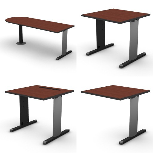 Cad 3D Free Model dvo B03-shock  01-desks-shock