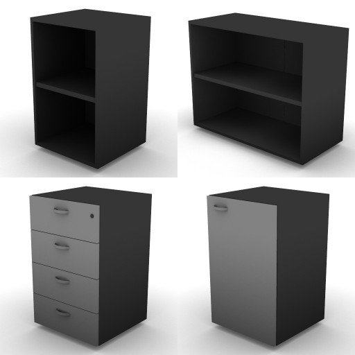 Cad 3D Free Model dvo B04-storage-units-bbs  16a-h.73,5