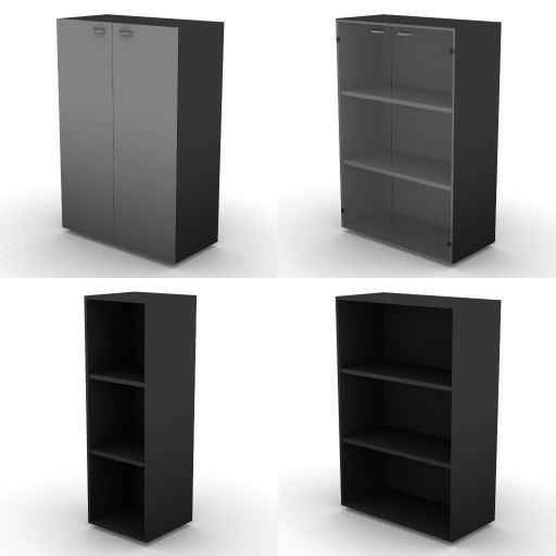 Cad 3D Free Model dvo B04-storage-units-bbs  17a-h.136