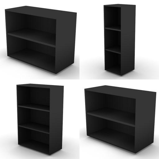 Cad 3D Free Model dvo B04-storage-units-bbs  17b-h.136-metal-shelves