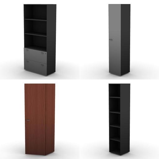 Cad 3D Free Model dvo B04-storage-units-bbs  18a-h.206,5