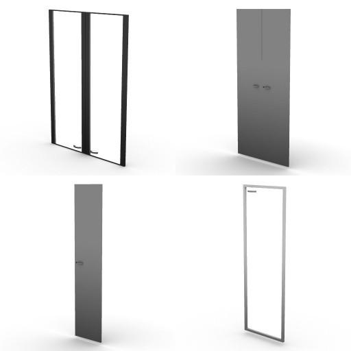 Cad 3D Free Model dvo B04-storage-units-bbs  19-doors