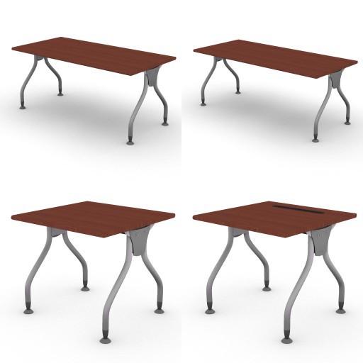 Cad 3D Free Model dvo C01-bull3  01-desks-bull3