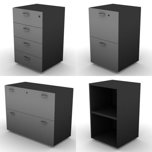 Cad 3D Free Model dvo C03-storage-units-bu  16a-h.73,5
