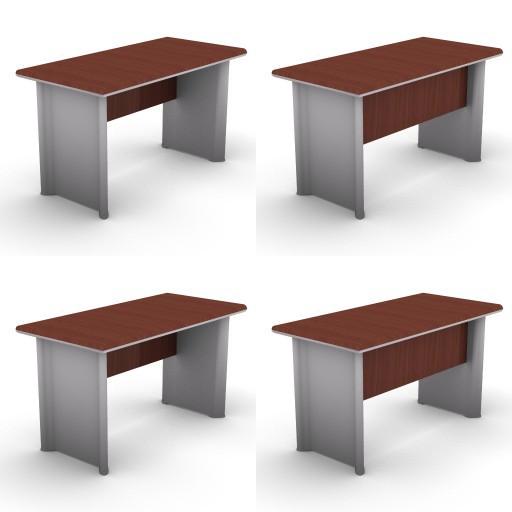 Cad 3D Free Model dvo E-kim  02-typing-tables-kim