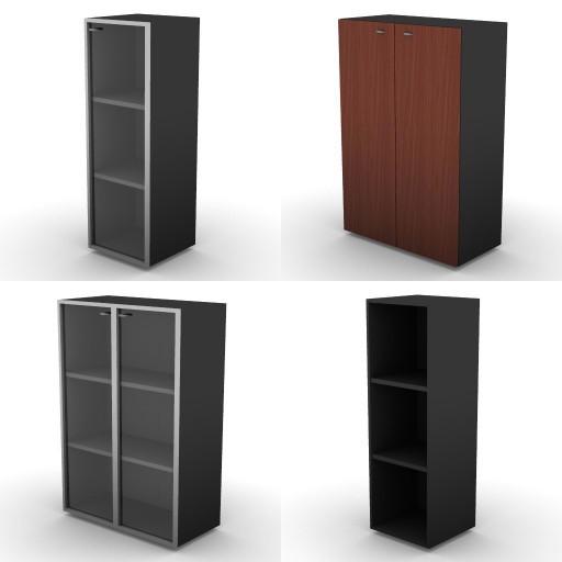 Cad 3D Free Model dvo E-kim  17-storage-unitsh.136