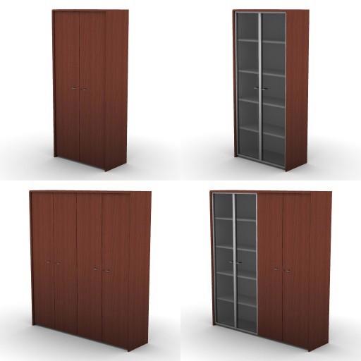 Cad 3D Free Model dvo E-kim  25-hight-stor-unit-compositions
