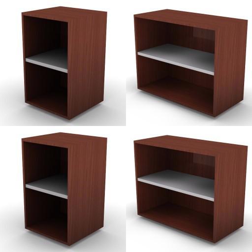 Cad 3D Free Model dvo F-dak  79b-storage-units-h.73,5-metal_shelves-dak