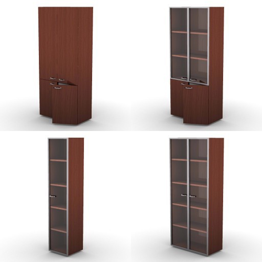 Cad 3D Free Model dvo F-dak  81a-storage-units-h.206,5-dak