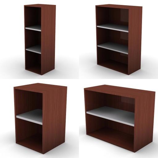 Cad 3D Free Model dvo F-dak  83b-superimposed_unit-metal-shelves-dak