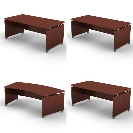 Cad 3D Free Model dvo H-on  1a-desks_on