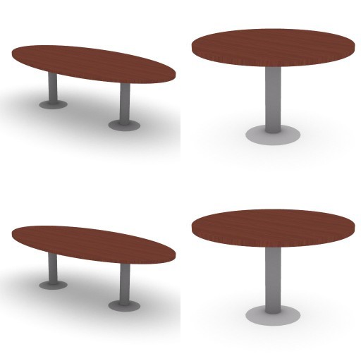 Cad 3D Free Model dvo H-on  6-meeting_tables-on