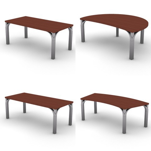 Cad 3D Free Model dvo I-palm_palm crystal  1a-desks_wood-palm