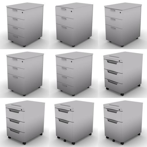 Cad 3D Free Model dvo Quattro-temporary  04-pedestals-quattro