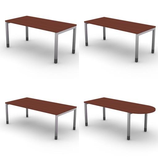 Cad 3D Free Model dvo Quattro30-temporary  01-desks-quattro30