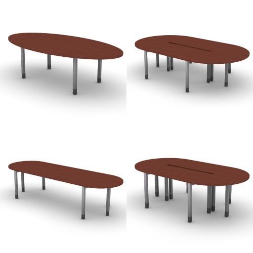 Cad 3D Free Model dvo Quattro30-temporary  09-conference-tables-quattro30