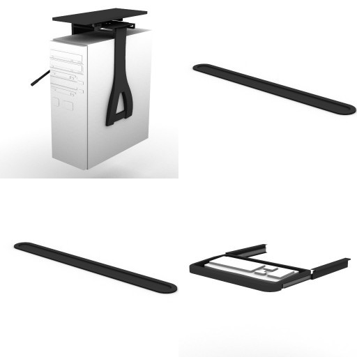 Cad 3D Free Model dvo Z-general-accessories  32-for-desks